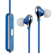 Sport Bluetooth 4.0 Stéréo Sans fil Ecouteurs pour iPhone Samsung Bleu