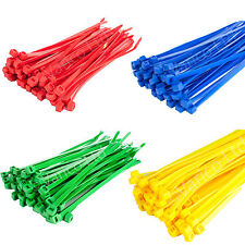 Pack Of 200 Cable Ties | Cable Tie Wraps | Coloured Cable Ties 200mm X 4.8mm