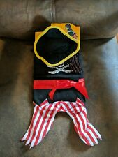 Pirate Dog Pet Costume Pet Halloween Dress Up Fun New Extra Small XS