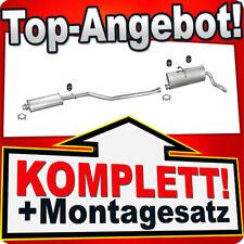 Auspuff CITROEN BERLINGO / PEUGEOT PARTNER 1.1 1.4 1.8 96-01 Auspuffanlage 783