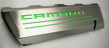 Acc Top Plates Synergy Green Camaro Inlay Fits 16 20 Camaro Ss Withacc Fuel Rails Fits Corvette