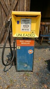 Gulf Gas Pump. Southwest Gas Pump. Original