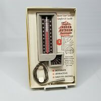 Vintage Taylor Indoor Outdoor Thermometer #5330 Complete in the Original Box