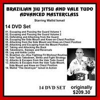 Brazilian Jiu-Jitsu & Vale Tudo WALLID ISMAIL 14 DVD mma bjj panther productions