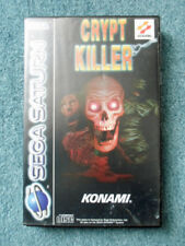Sega Saturn CRYPT KILLER Konami Video Game