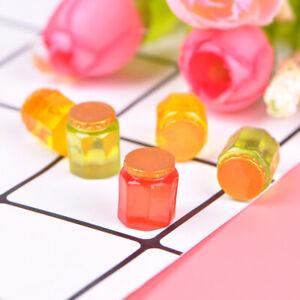 5 Pcs 1:12 Dollhouse miniature honey pot sugaC IH
