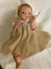 Vintage Effanbee BABY Tinyette Composition DollALL ORIG. EXCELLENT PAINTED EYE