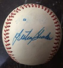 LES STRAKER AUTOGRAPHED SIGNED OAL BASEBALL ONLY ONE ON EBAY? RARE TWINS 1987 WS
