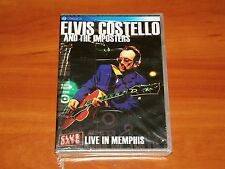 ELVIS COSTELLO AND THE IMPOSTERS LIVE IN MEMPHIS HI TONE CAFE 2004 DVD NEW