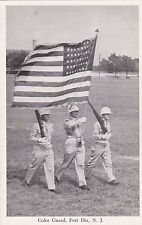 FORT DIX , New Jersey30-40s ; Color Guard