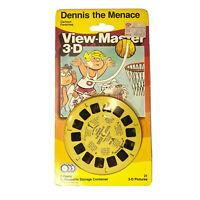 NEW! Vintage 1988 Dennis the Menace View-Master 3-D Set of 3 Reels, 1065