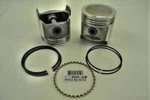 ITM RY6150-030 One Individual Engine Piston W/Rings fits 81-87 Land Cruiser 4.2L