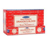Full Box Original Satya Dragon's Blood Incense Sticks Joss - Genuine Nag Champa