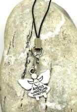 GUARDIAN ANGEL Seraph mobile phone, bag, zipper charm talisman protection GIFT