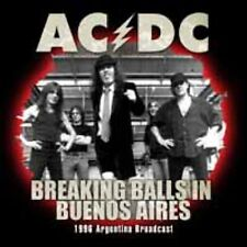 BREAKING BALLS IN BUENOS AIRES  by AC/DC  Compact Disc  ZCCD087