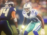 Anthony Brown Autographed Dallas Cowboys 8x10 Photo Gdst Hologram