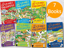 13 Storey Treehouse Collection - 7 Books set by Andy Griffiths