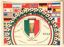 Cartolina Campionato Del Mondo Italia 90 - C'Ero Anch'Io Stemma FIFA World C