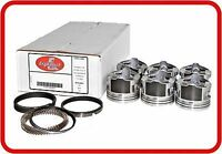 Chevy 235 6 Cylinder Flat Top Pistons+Rings Combo Kit 1948-62 STANDARD