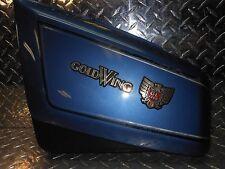 84-87 Honda GL1200 GL 1200 A I Left Side Frame Battery Cover Panel Telstar Blue