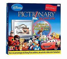 Jeu de société Pictionary Disney - Jeu avec DVD - Mattel Games -