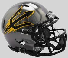 ARIZONA STATE SUN DEVILS Riddell SPEED Authentic MINI Football Helmet CHROME