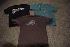 GYMBOREE QUICKSILVER ~ LOT OF 3 Boy Short Sleeve T Shirts ~ Size 7 ~ Fun Unique