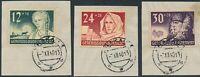Lot Stamp Germany Poland General Gov't Sc NB5-7 1940 WWII Third Reich Krakau CTO