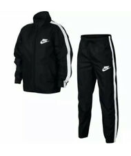 Nike Boys Woven Black Tracksuit Size Large 12-13 Years (147-158cm) AR5103 010
