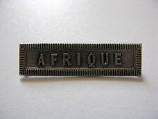 """Agrafe ordonnance """"AFRIQUE"""" pour la médaille Comémorative 39-45"""