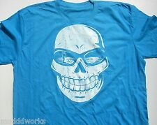Stand up Paddle board T-shirt Coastal Nomad skull Sup ocean shirt Aqua blue