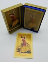 "Waddington's English Playing Cards ""Bailarina"" Dancer Sealed in Original Package"