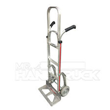 """Magliner Aluminum 60"""" Wide Blade Hand Truck with Double Grip Handle"""