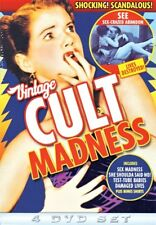 Vintage Cult Madness (Test Tube Babies / She Shoulda Said No! / Sex NEW DVD
