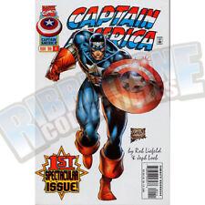 Captain America v2 #1 White Cover Vf-Nm