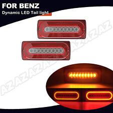 2X LED Rückleuchte Dynamische Blinker Bremslicht Für Mercedes G-Klasse W463 3in1