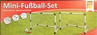 Mini Fußball Set Tore Tor 90*60*50cm Pumpe + Ball + Heringe soccer goals