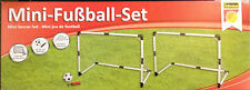 Mini Fußball Set Tore Tor 90*60*50cm Pumpe + Ball + Heringe soccer goals