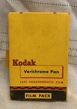 VINTAGE KODAK VERICHROME PAN FAST PANCHROMATIC FILM, THE FILM PREDATES 1957