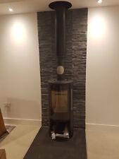 Large Black slate fireplace hearth 1200 x 1200 x 30mm - Big Slate slab -