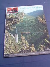 vie du rail 1970 1255 SAILLAGOUSSE cerdagne cordemais fiat trappes tours vouvray