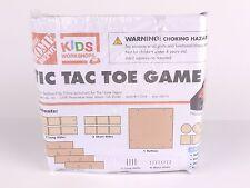 Home Depot Kids Workshops Craft Tic Tac Toe Game Kit  - NEW