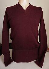 vtg CHICAGO HIGH SCHOOL FOOTBALL SWEATER - Jim Crowley 50s/60s varsity/wool/knit