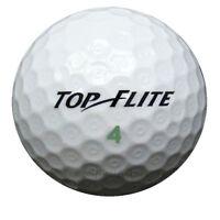 75 Top-Flite D2 Mix Golfbälle im Netzbeutel AAAA Lakeballs TopFlite D 2 Bälle