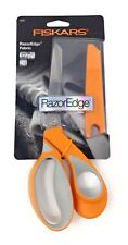 Fiskars F8195 RazorEdge Soft Grip Fabric Scissors Inc. Protective Sheath 23cm