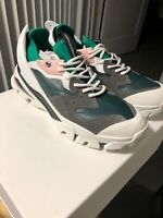 CALVIN KLEIN 205W39NYC Carlos 10 Leather Designed By RAF Simons US Men's 10.5