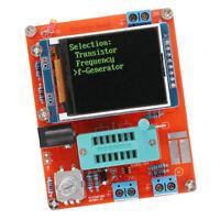 DIY KITS Display GM328 Transistor Tester Diode Cap ESR Volt Freq Meter PWM New