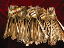 Silverplate Dinner Fork Lot of 100 Craft Grade Vintage Dinner Forks Flatware