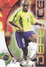 Futera Platinum 2003 FOOTBALL MONDIAL-Roberto Carlos-Brésil-Nº 52