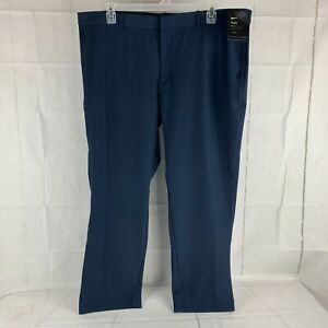 NWT Nike Flex Stretch Golf Pants Size 42 x 30 Obsidian Navy Blue #AJ5491-451